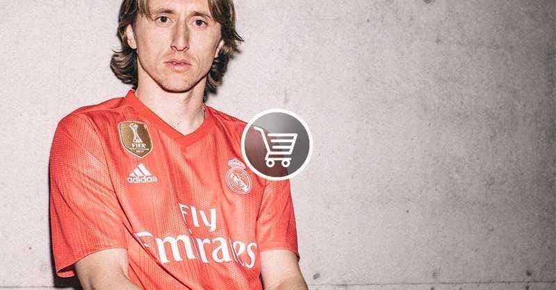 Modric terza maglia 18-19 Real Madrid Twitter