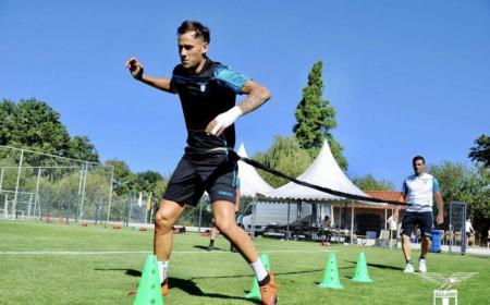 Murgia training Lazio Twitter
