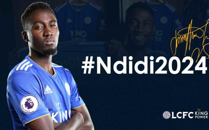 Ndidi annuncio rinnovo 20204 Leicester Twitter