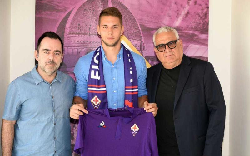 Pjaca, Corvino e Freitas Fiorentina Twitter