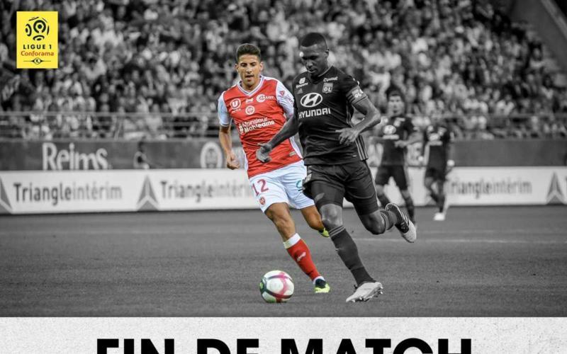 Reims Lione 1-0