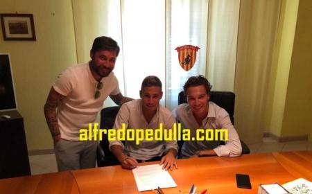 Ricci Federico firma Benevento