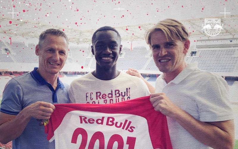 Samassekou rinnovo 2021 RB Salisburgo Twitter