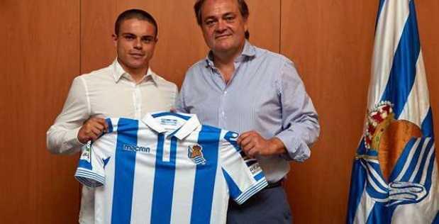 Sangalli Luca rinnovo Real Sociedad