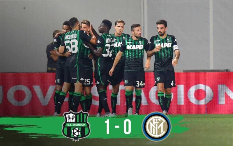 Sassuolo vs Inter