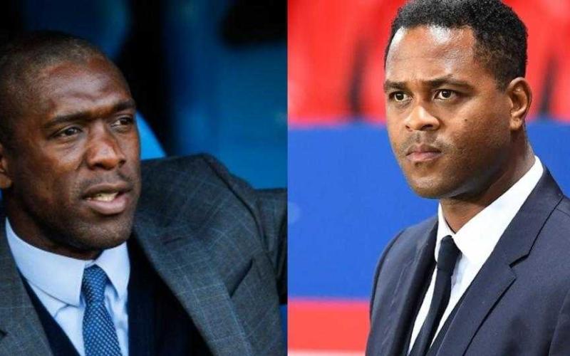 Seedorf e Kluivert Camerun Twitter