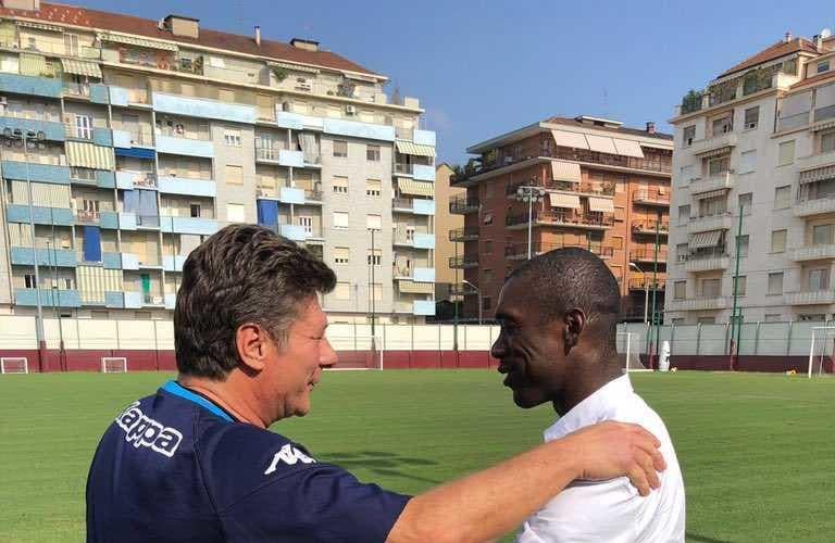 Seedorf e Mazzarri Torino Twitter