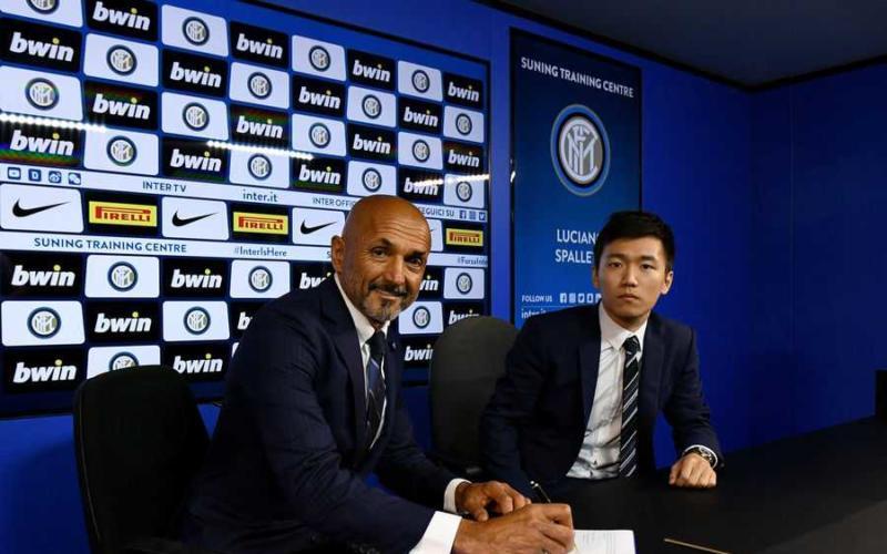 Spalletti firma rinnovo 2021 Inter Twitter