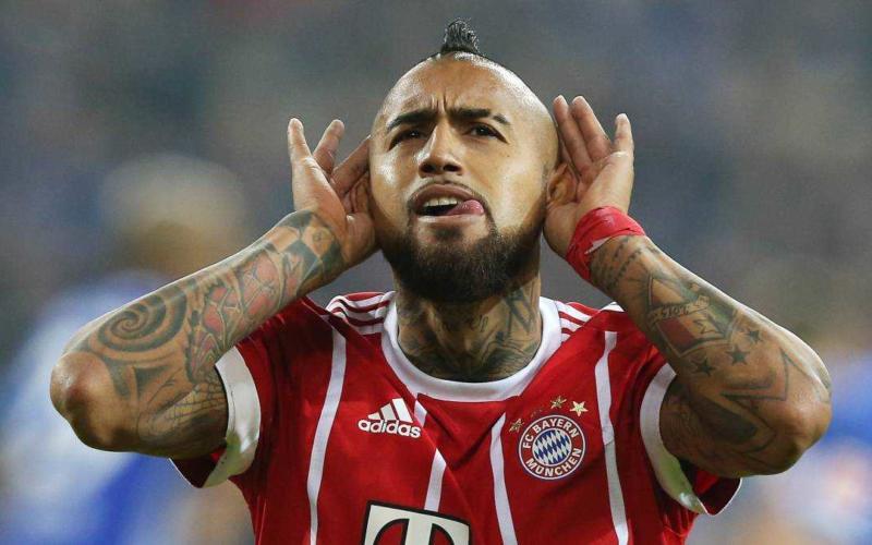 Vidal Bayern Foto AS