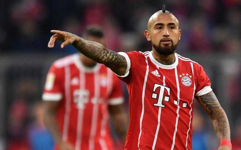 Vidal Bayern Foto Bild