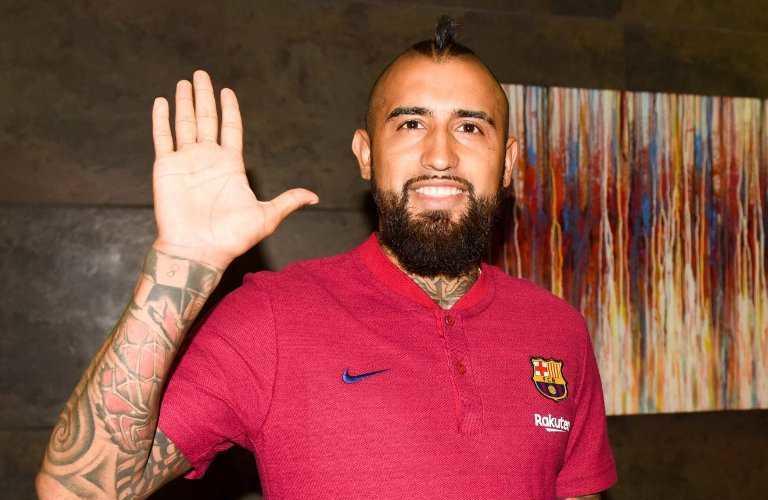 Vidal Twitter uff Barcellona