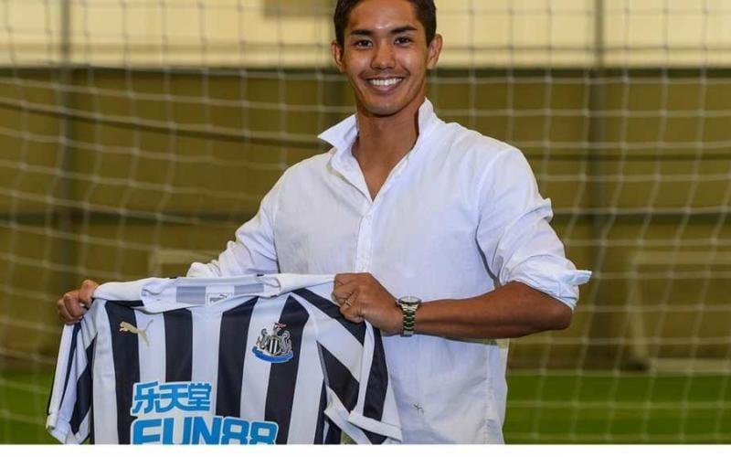 Yoshinori Muto annuncio Newcastle