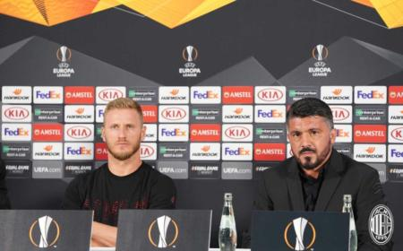 Abate e Gattuso conferenza Milan Twitter