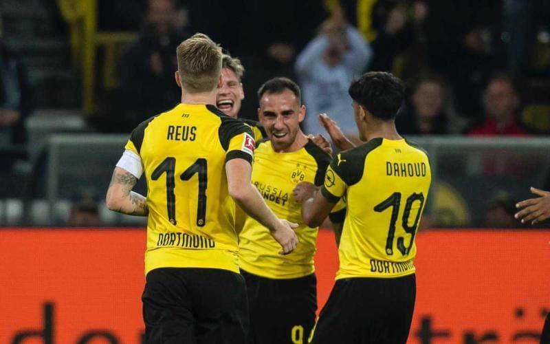 Alcacer Twitter uff Dortmund