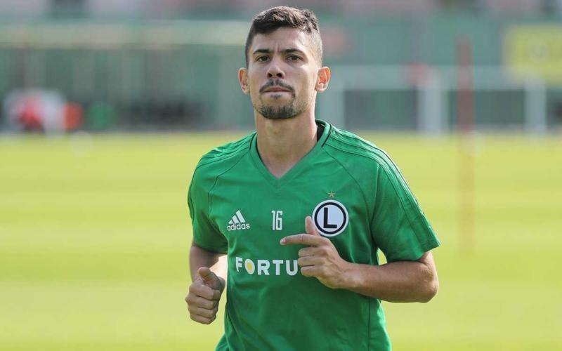André Martins Legia Varsavia Twitter