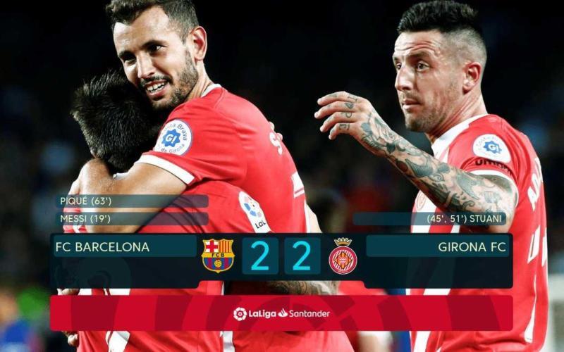 Barcellona Girona 2-2