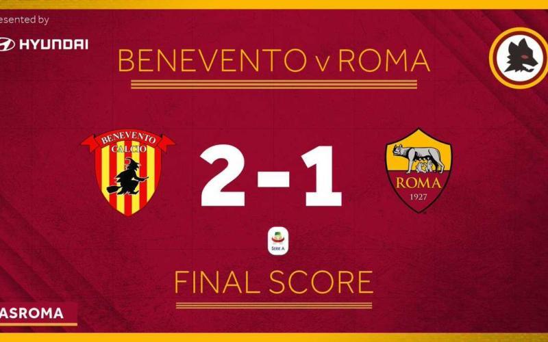 Benevento Roma 2-1