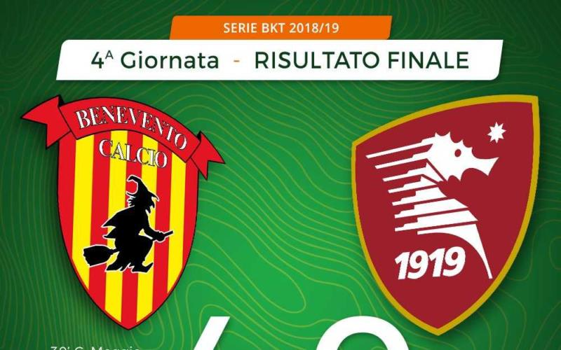 Benevento Salernitana 4-0