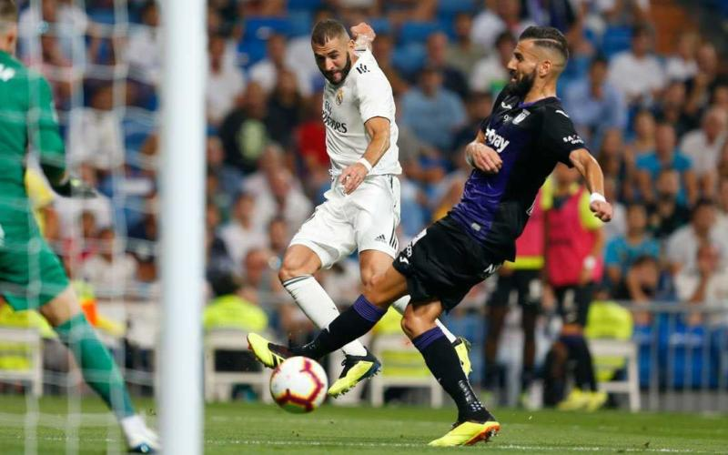 Benzema vs Leganes Real Twitter