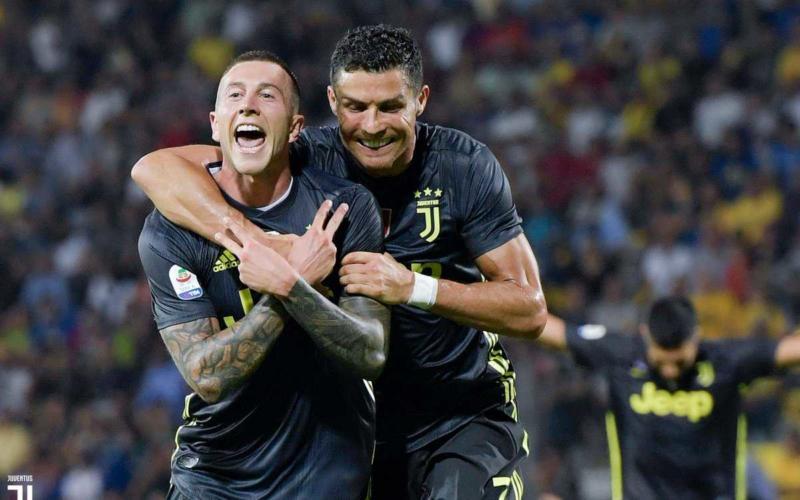 Beranrdeschi e Cristiano Ronaldo Juventus Twitter
