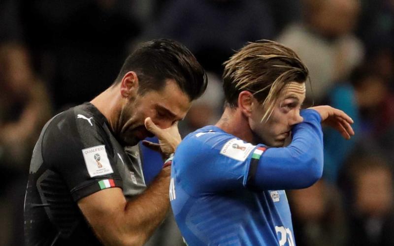 Bernardeschi e Buffon Italia Foto Durango Herald