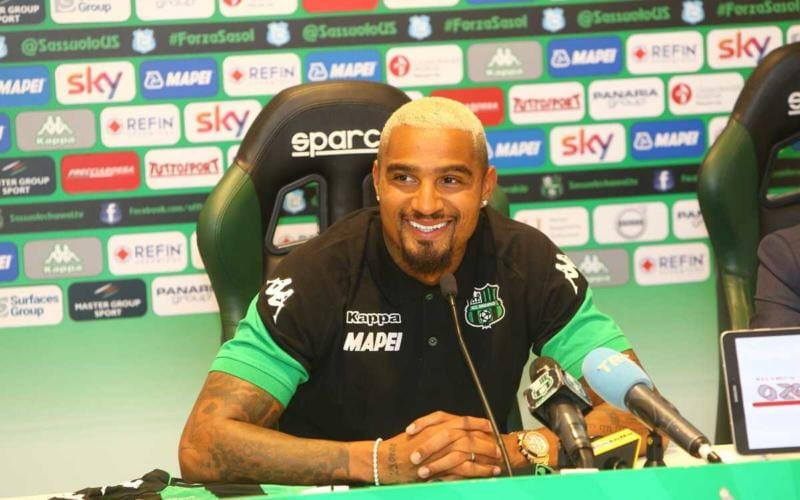 Boateng conferenza Sassuolo Twitter