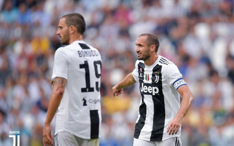 Bonucci e Chiellini 18-19 Juventus Twitter