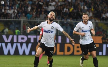 Brozovic Twitter uff Inter