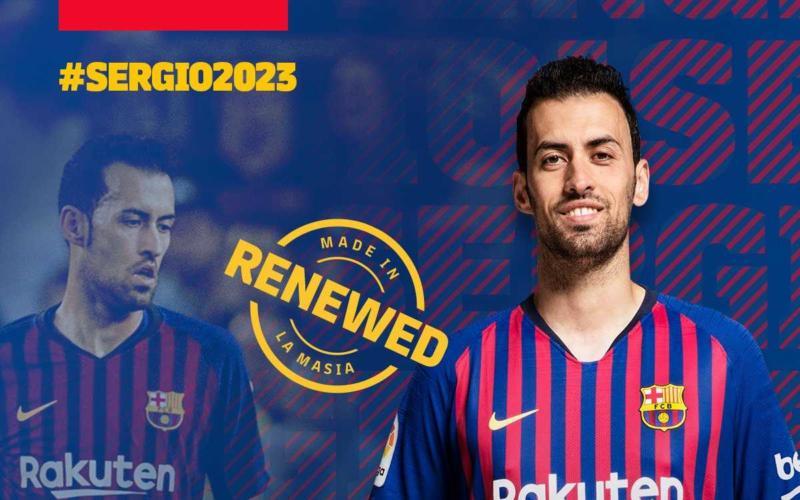 Busquets rinnovo 20203 Barcellona