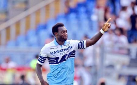 Caicedo esultanza Lazio Twitter