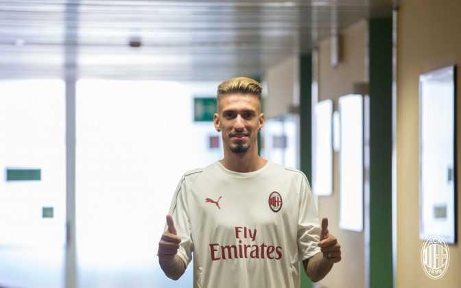 Castillejo Milan Twitter