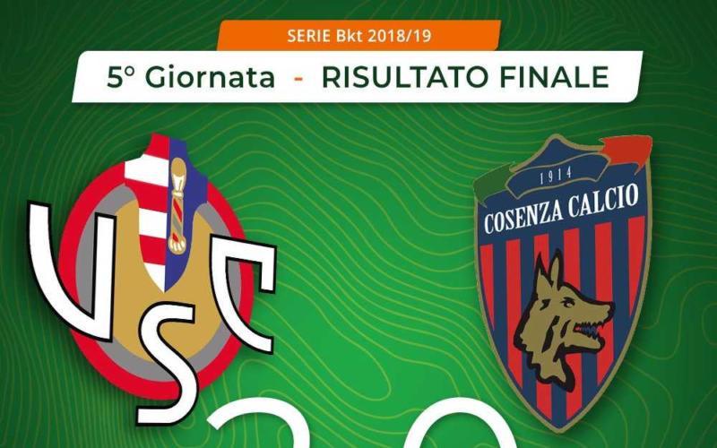 Cremonese Cosenza 2-0