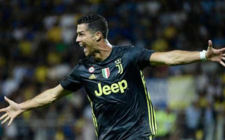 Cristiano Ronaldo Juventus vs Frosinone Foto Marca