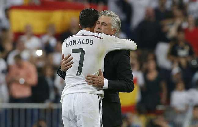 Cristiano Ronaldo e Ancelotti Real Madrid Foto kosovapess