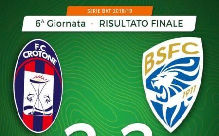 Crotone Brescia 2-2