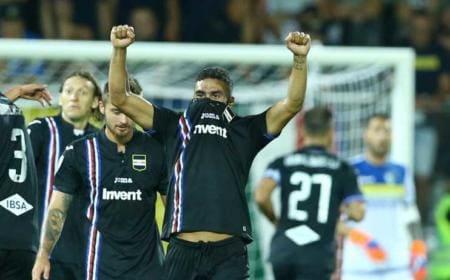 Defrel gol vs Frosinone Foto Sampdoria Twitter