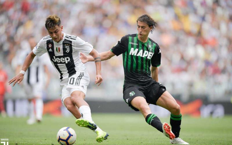 Dybala vs Sassuolo Juventus Twitter
