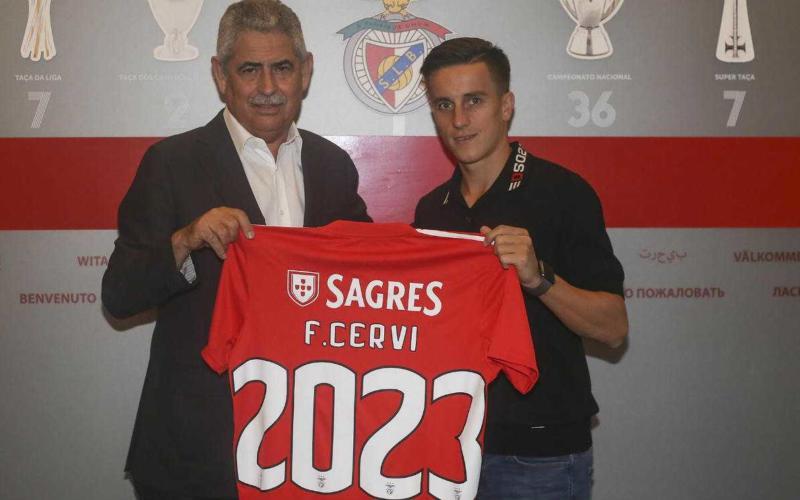 Franco Cervi sito uff Benfica