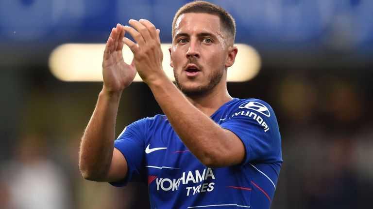 Hazard Chelsea 2018 Foto jerseypeeps