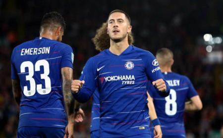 Hazard e Emerson Palimieri Chelsea Twitter