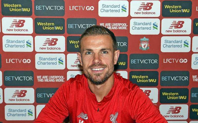 Henderson Twitter uff Liverpool