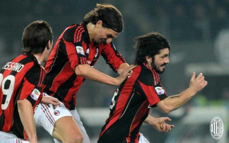 Ibrahimovic + Gattuso sito uff Milan