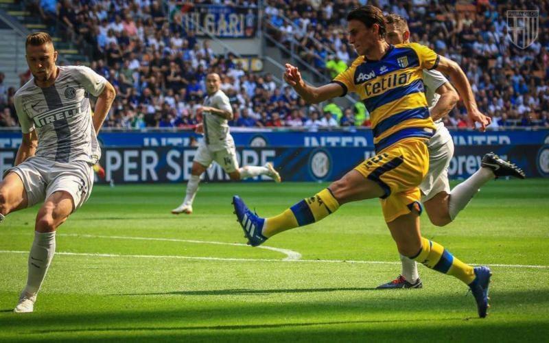 Inglese vs Inter Parma Twitter