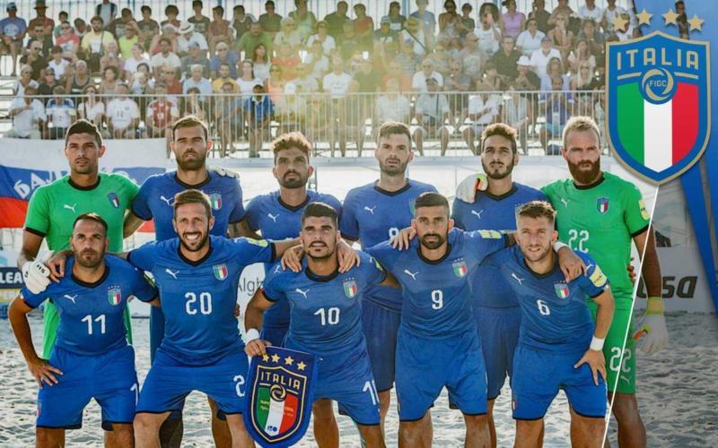 Italia Beach Soccer Campione