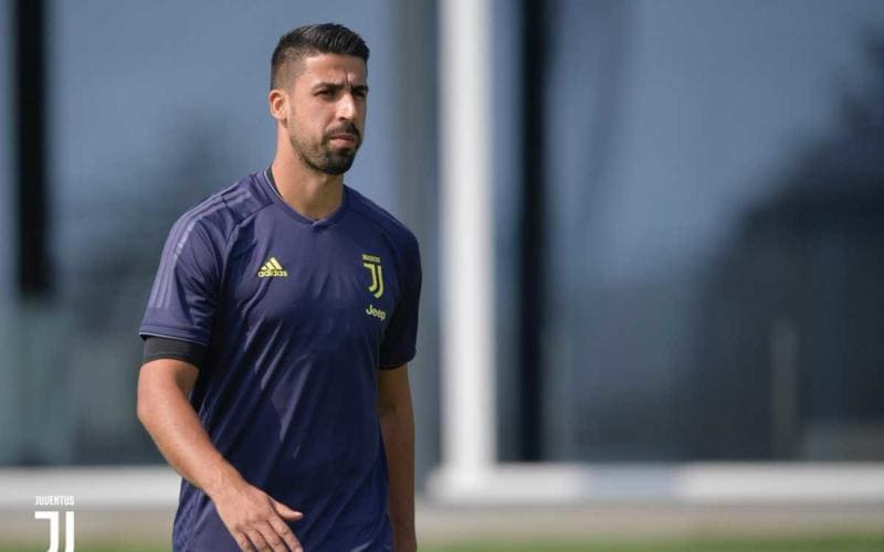 Khedira training Juventus Twitter