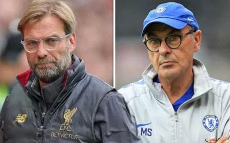 Klopp + Sarri express.co.uk