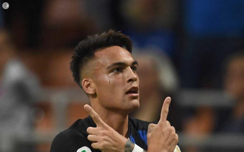 Lautaro Martinez vs Cagliari Inter Twitter