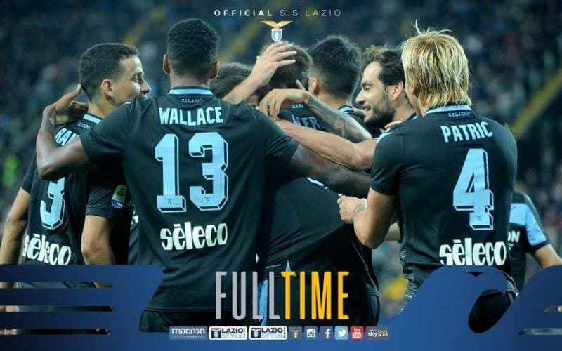 Lazio vs Udinese 2-1
