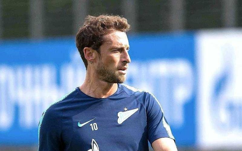 Marchisio training Zenit Twitter personale