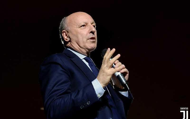 TURIN, ITALY - MAY 18:  Giuseppe Marotta during Juventus J1897 Day at Allianz Stadium on May 18, 2018 in Turin, Italy.  (Photo by Filippo Alfero - Juventus FC/Juventus FC via Getty Images)
